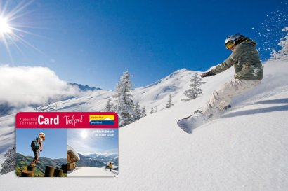 Die Alpbachtal Seenland Card im Winter